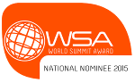 World Summit Award Nominee ribbon